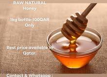 pure raw honey عسل