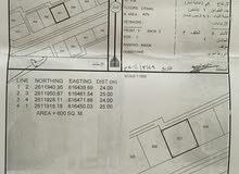 للبيع ارض سكني في المعبيله 6 قابل للتمديد وواجهة عرضيه لتوين فيلا منفصلات