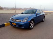 For sale 2003 Blue G35