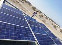نقوم بتركيب محطات الطاقة الشمسية للمنازل وغيرهاااا