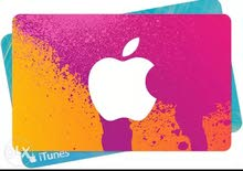بطاقات ايتوانز مع بطاقات قوقل بلاي جميع الفئات