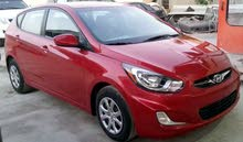 Hyundai Accent 2014 For sale - Maroon color