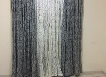 Three (3) Curtain sets for sale