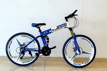 complete aluminium mountain bicycle