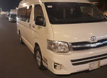Toyota Hiace 2012 for rent per Year