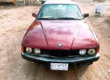 BMW 735 1990 For sale - Red color
