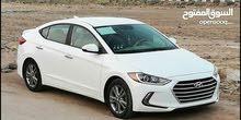 Hyundai Elantra 2017 For sale - White color
