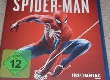 دسكة spider man الاخيرة للبيع او للتبديل بلعبة جديدة فقط