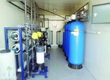 محطة تصفية ومعالجة المياه بالاوزون RO