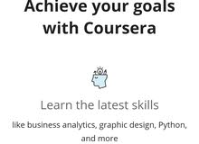 Get unlimited Coursera account