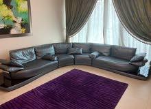 Luxury Italian leather sofa for sale