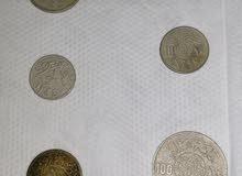 عملات قديمه ونادره ولدينا مزيد من العملات العربية والأجنبية