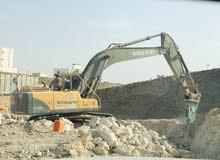 Excavator 240 FOR RENT 240للإيجار حفار