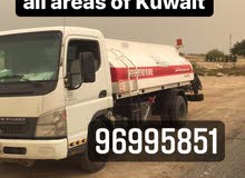 Transferring diesel to all areas of Kuwait