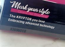 Krypton hair straightener