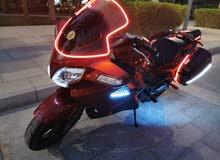 للبيع دراجة CFMOTO 650 TK موديل 2014 خليجي من وكالة الشعالي بدبي ماشية 1600 KM ف