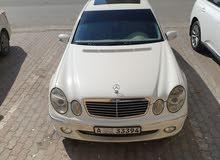 مارسيدس E500 2003 نظيفة جدا للبيع