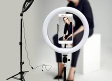 Tripod Ring Light New superior quality tripod live fill light round selfie photography ring light