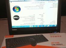 جهاز حاسوب all in one مكتبي شبة جديد