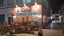 للبيع والتنازل مطعم ومقهي في أسواق مساحة 140م دور ارضي