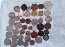 مجموعة عملات معدنيه متنوعه