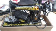 مكنة خياطة منزلي مستعمل سنجر أميركي مع موتور اساسي سنجر اميركي