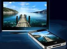 وصلة HD المطورة لعرض الجوال على شاشة التلفاز