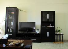 2 wall cabinets + tv stand
