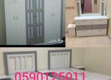 غرف نوم نفرين وأطفال جديدة 1800 شامل التوصل والتركيب 0590125011