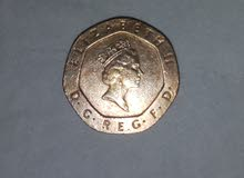 20 pence de canada 1988