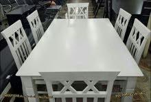 عرض خاص ومميز طاولة طعام 6 كراسي