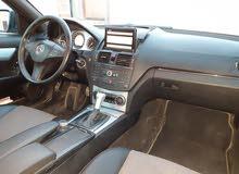 مرسيدس c300موديل 2009 ماشية 181 kmسياره خاليه من العيوب سيارة مشالله