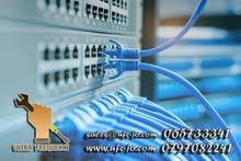 تصميم وتمديد شبكات الكومبيوتر Network وفحصها وتشغيلها بأعلى المواصفات