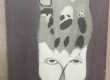 لوحة عمل طالبه يتيمه