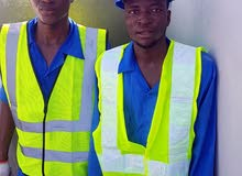 يوجد لدينا عمال من الجنسية الأفريقية هلبر في المقاولات ثلاث شهور زيارة راتب 1000