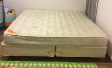 سرير سليب هاي نفرين مرتبة سست  مستخدم استخدام نظيف جداااا