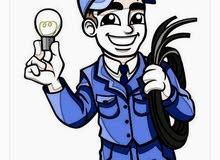 مهندس كهرباء ليبي تركيب مولدات وتجهيز وتشطيب مباني