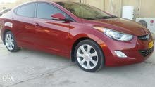 Hyundai Elantra 2012 For sale - Red color