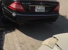 Mercedes Benz CL 500 2001 For sale - Black color