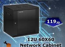 كبينة شبكة بسعة60x60cm  12U Linkcomn Network Cabinet