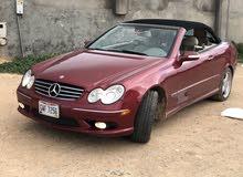 مرسيدسCLK500 موديل 2004