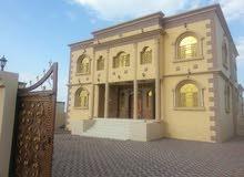 منزل طابقين  للإيجار مقابل نادي الرياضي الخابوره