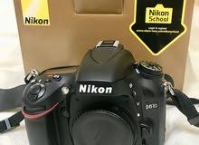 Nikon D610 -  full fream camra - ( only body )