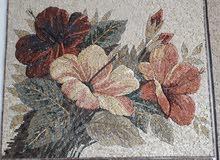 لوحات موزاييك من الحجر الطبيعي