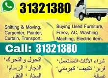 Moving shifting carpenter transport service Call me 31321380