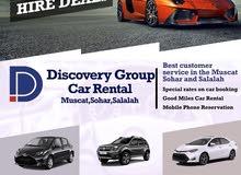 Car Rental 4WD & Saloon in Muscat and Slalalah
