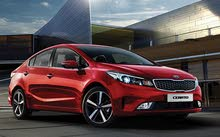 Kia Cerato 2016 For Rent - Red color