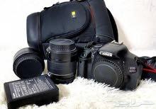 كاميرا كانون إحترافية مع عدستين
