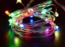 String Decoration Light Multi Color Flashing Lights 20LED (2M) Battery Operated for Christmas