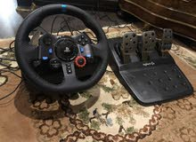 دركسون بلاي ستيشن مع دعاسات PS steering wheel